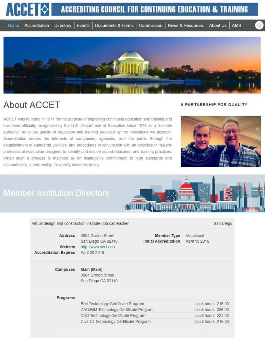 ACCET National Accreditors