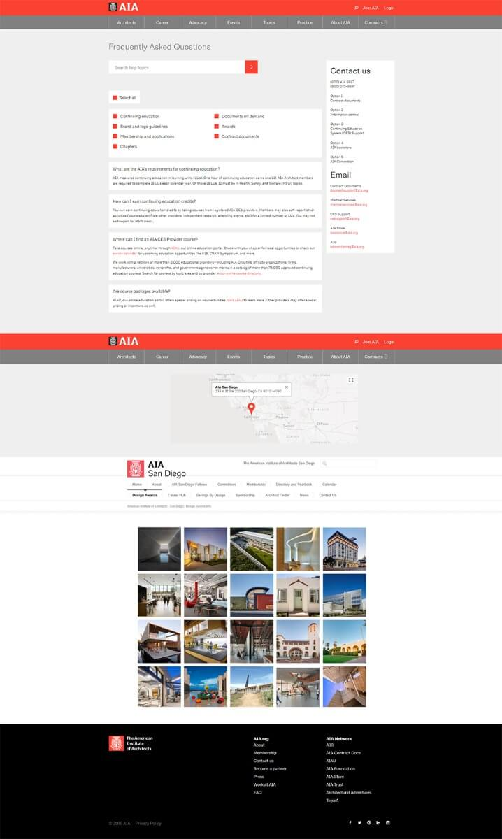 AIA American Institute of Architects - 30-year Firm Member