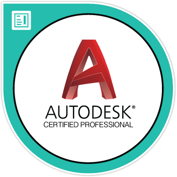 AutoCAD Professional Certification Digital Badge