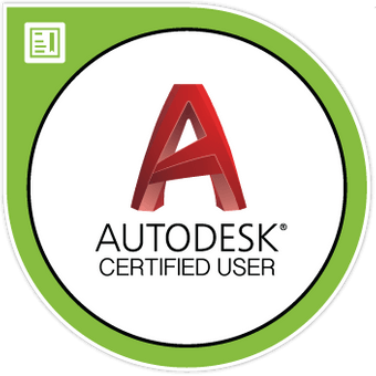 AutoCAD User Certification Digital Badge