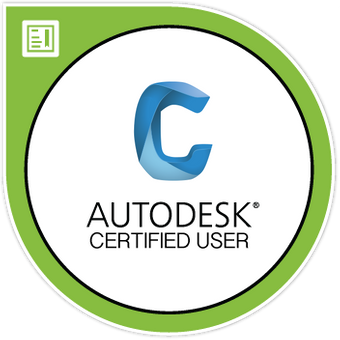 Civil 3D User Certification Digital Badge