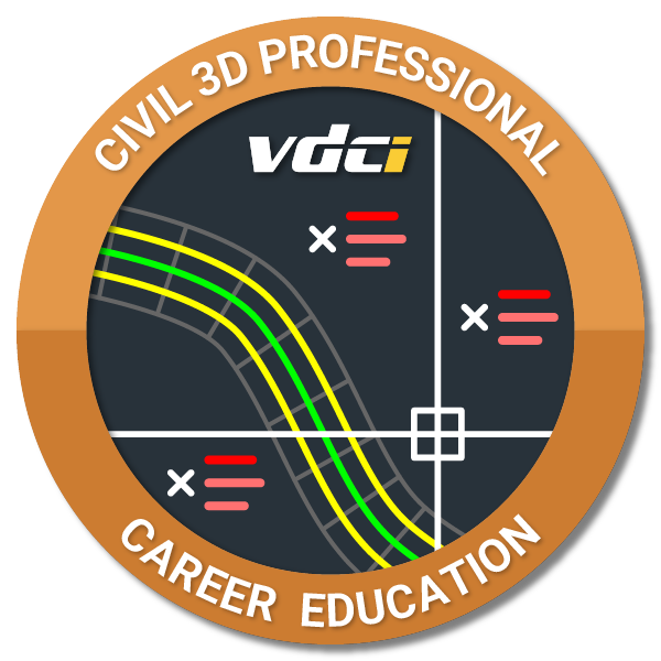 Civil 3D Certification Digital Badge