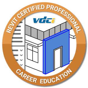 Revit Professional Certification Digital Badge