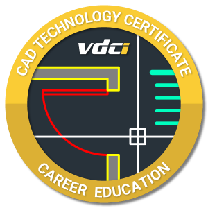 AutoCAD Technology Certificate Digital Badge