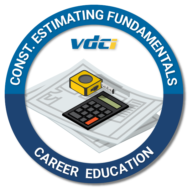 Construction Estimating Fundamentals Digital Badge