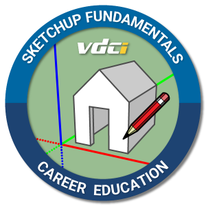SketchUp Certification Digital Badge