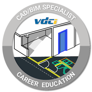 CAD BIM Specialist Certification Digital Badge