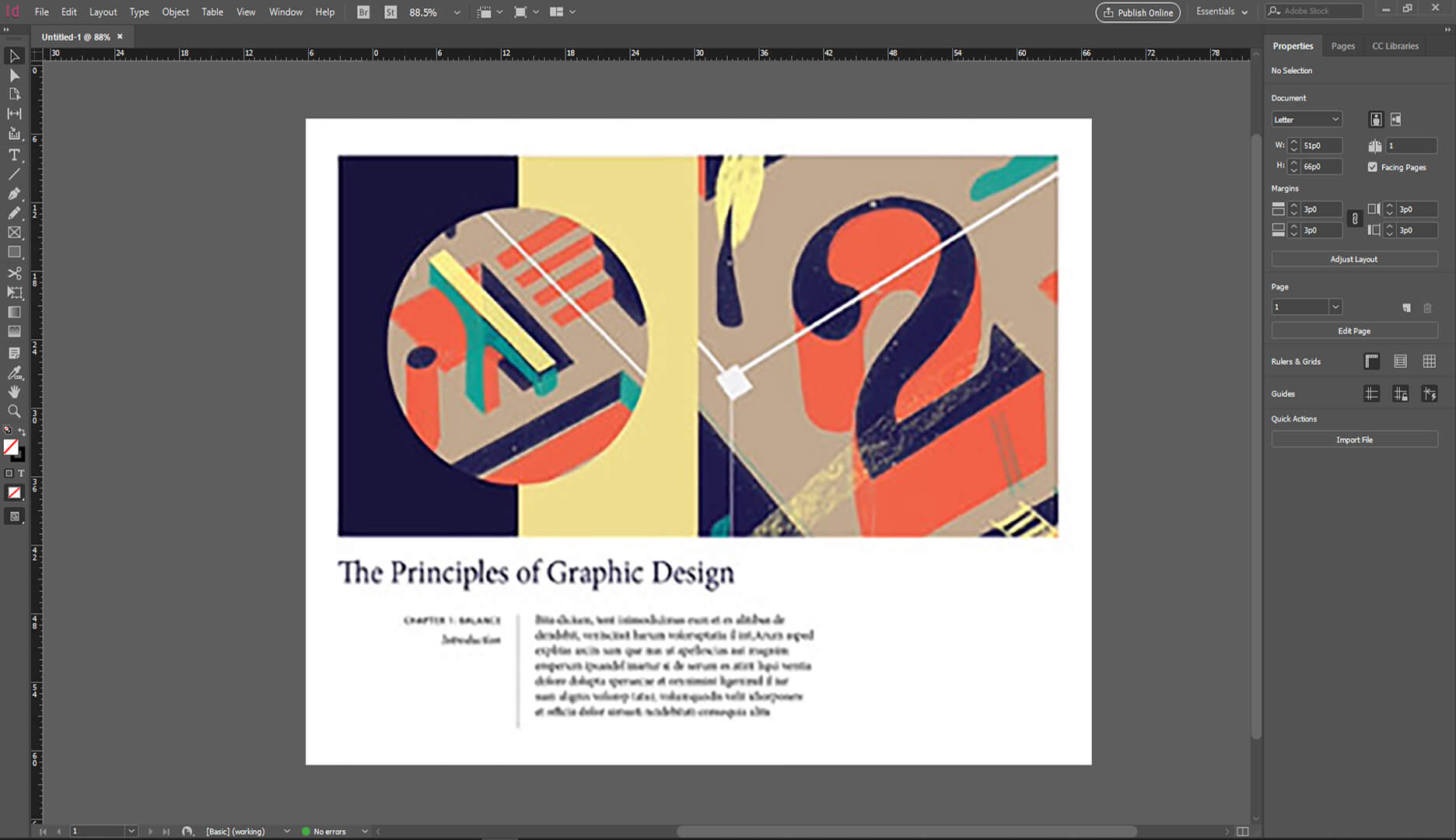 Introduction to Adobe InDesign Online Class
