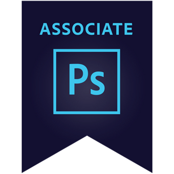 Adobe Photoshop Certification Digital Badge
